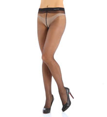 Calvin Klein Hosiery Sheer to Waist Pantyhose with Backseam X10F