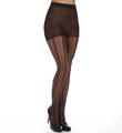 Calvin Klein Hosiery Vertical Mesh Stripe Sheer With Control Top X33