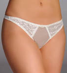 Carnival Tuxedo Style Thong 3027