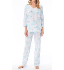 Carole Hochman 180921 Blooming Roses Pajama Set