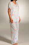 Cottage Rose Blooms Pajama