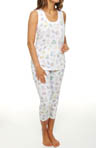Carole Hochman Under The Sea Capri PJ Set 181574