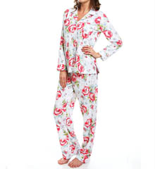 Carole Hochman 181710 Whistful Rosebuds Pj Set