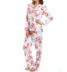 Carole Hochman Whistful Rosebuds Pj Set 181710