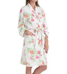 Carole Hochman Botanical Ditsy Short Robe 181750