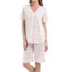Vintage Ditsy Bermuda Pajama Set Image