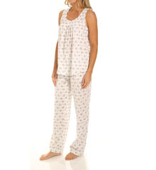 Carole Hochman Awakening Long Pajama Set 181811