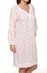 Carole Hochman Cottage Rosebud Bracelet Sleeve Sleepshirt 182451