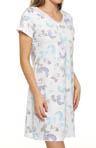 Carole Hochman Airbrushed Rose Stencil Sleepshirt 182460