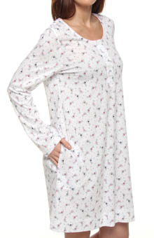 Conversational Soft Jersey Sleepshirt