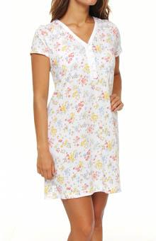 Carole Hochman 183550 Catalina Roses Sleepshirt