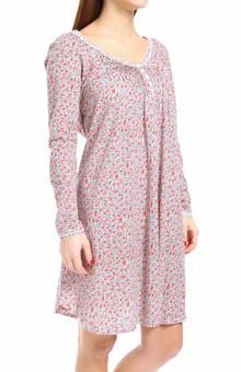 Carole Hochman Rosebud Cherubs Short Gown 183650