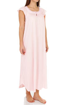 Carole Hochman Tossed Carnations Long Gown