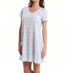 Carole Hochman Fresh Rose Tiles Sleepshirt 183722