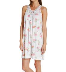 Carole Hochman 183750 Botanical Ditsy Short Gown