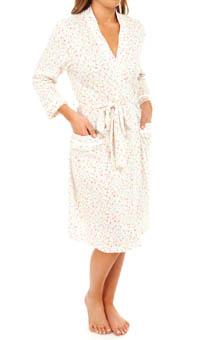 Carole Hochman Liberty Floral Short Robe 184600