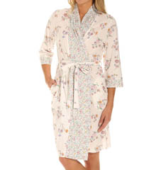 Carole Hochman Enchanted Fields Short Robe 184810