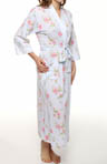 Carole Hochman Lacey Floral Long Robe 185560