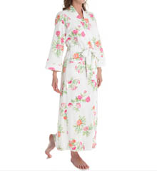 Carole Hochman 185750 Botanical Ditsy Long Robe