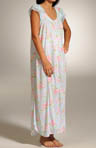 Cottage Rose Blooms Long Gown