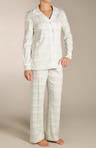 Cherry Hill Blossoms Plaid Pajama