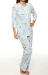 Carole Hochman Escape to Provence 3/4 Sleeve PJ 189470