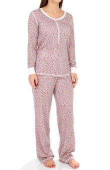 Carole Hochman 189653 Vintage Rosebud Pajama