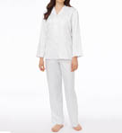 Brush Back Satin Pajama Image