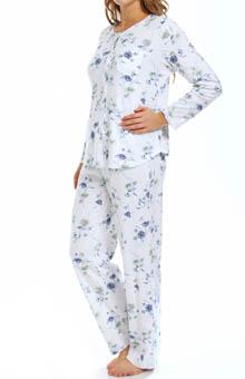 Carole Hochman Garden Daisies Pajama 189670