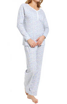 Carole Hochman Hushed Violets Pajama Set 189700
