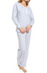 Hushed Violets Pajama Set Image
