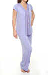 Carole Hochman Midnight Sheer Bliss PJ Set 131461