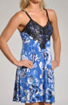 Carole Hochman Midnight Blue Moon Chemise 132252