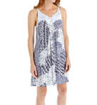 Carole Hochman Midnight Mixed Prints Chemise 132800