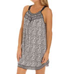 Carole Hochman Midnight Tribal Chemise 132802