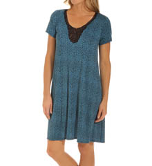 Carole Hochman Midnight 133802 Tribal Sleepshirt