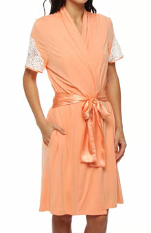 Carole Hochman Midnight Just a Kiss Apart Robe
