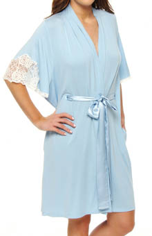 Carole Hochman Midnight In the Misty Moonlight Short Robe