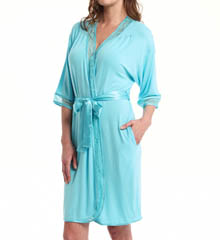 Carole Hochman Midnight Lovely In Lace Robe 134723