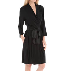 Carole Hochman Midnight 134730 Simple Slumber Short Robe