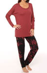 Carole Hochman Midnight Modern Comfort Pajama Set 139406