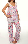 Carole Hochman Midnight Kiss By A Rose Pajama 139471
