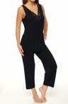 Carole Hochman Midnight In the Misty Moonlight Capri PJ Set 139571