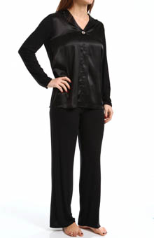 Carole Hochman Midnight Mad About You Pajama