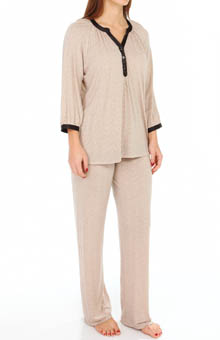 Carole Hochman Midnight Keep Me Close Pajama Set