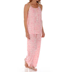 Carole Hochman Midnight Tropical Paradise PJ Set 139751