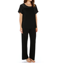 Carole Hochman Midnight 139760 Dove Opulence Pajama Set