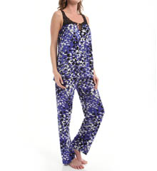 Carole Hochman Midnight Purple Opulence Pajama Set 139761
