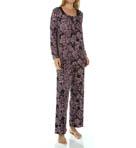 Sweet Memories Floral Imprinted Long Pajama Image