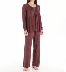 Carole Hochman Midnight 139854 Romantic Long Pajama Set
